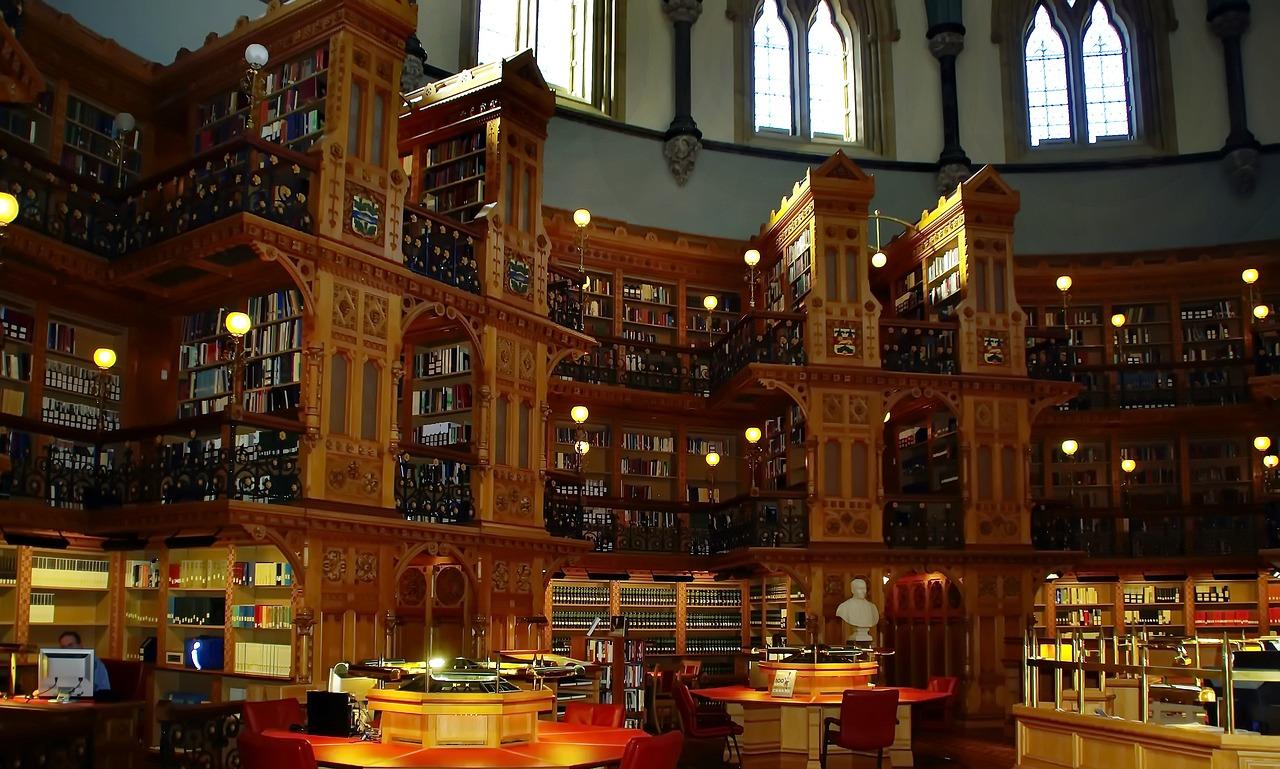 canada, ottawa, library